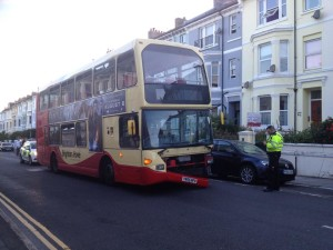 Queens Park Road bus crash