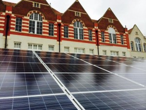 St Luke's Primary School solar panels