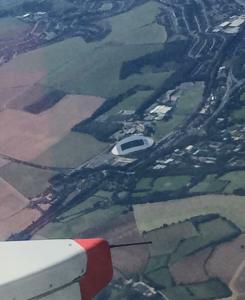 Amex aerial view
