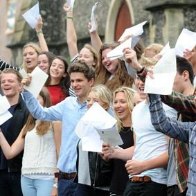 Brighton College A level results 20150813-01
