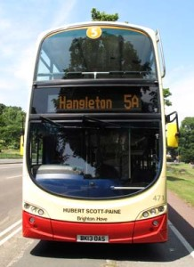 Brighton andd Hove Buses 5A 471 Hubert Scott-Paine