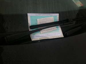 A Brighton parking ticket by Danny Hope on Flickr