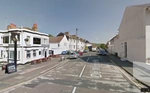 De Montfort Road. Image taken from Google Streetview
