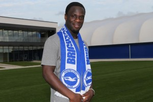 Elvis Manu - picture by Paul Hazlewood / BHAFC