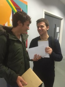 PACA students celebrate A-level results 2015