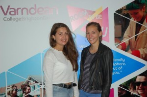 Varndean College A-level students on results day 2015-1