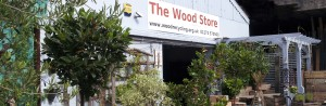 wood store front