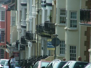 Brighton houses by Les Chatfield on Flickr