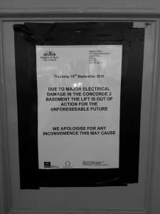 Madeira Lift notice