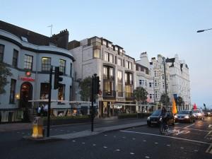 An artist's impression of the new West Street development
