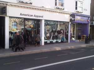 American Apparel North Street Brighton