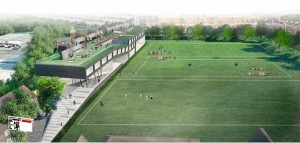 Brighton College proposed sports and science block 1