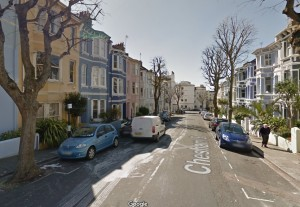 Chesham Street. Image taken from Google Streetview