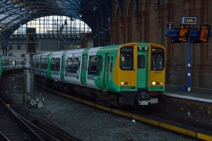Class 313 train by Phil Richards on Flickr