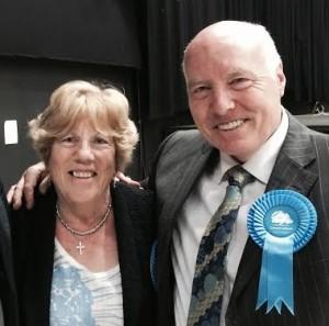 Councillors Ann and Ken Norman