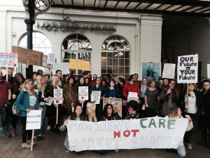 Junior doctors protest 20151017