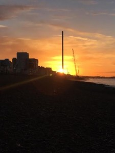 The Brighton i360 pictured by Chris Girvan