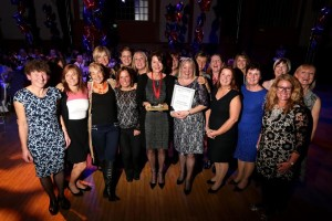 Sarah Bright and the Community Midwives