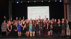 The BSUH Hospital Star Awards 2015 at Brighton Dome. Pictured are all the winners on stage.17/11/15Photographer: Sam Stephenson, 07880 703135, www.samstephenson.co.uk.