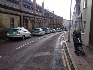 Brighton Station cabs queue in Terminus Road