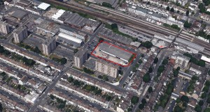 The site of the proposed £80m Hove Gardens scheme