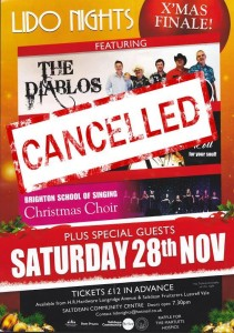 Lido Nights cancelled