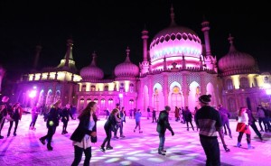 The Royal Pavilion Ice Rink - Picture by Hugo Philpott