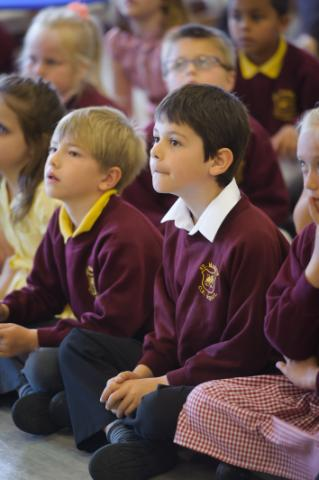 Stock image of children from St Mark's CE Primary School