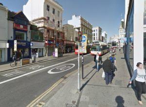 North Street, Brighton. Image taken from Google Streetview
