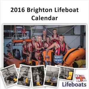 RNLI Brighton calendar