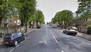 Sackville GArdens, Hove. Image taken from Google Streetview