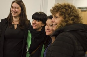 Bilingual Primary School founders celebrate the handover of keys to the school's new home on the edge of Hove Park