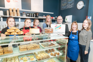 Raise Bakery celebrates becoming the 250th employer to sign up to the Brighton and Hove Living Wage Campaign