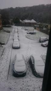 Snow Bevendean 20160117