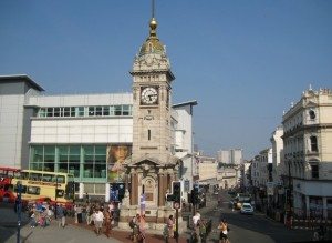 Brighton Clock Tower by www.geograph.org.uk