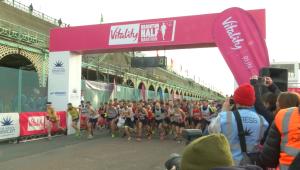 Brighton Half Marathon 2016-02 Ceirney Eddie