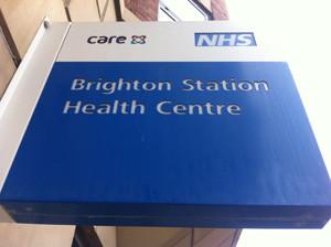 Brighton Station Health Centre sign