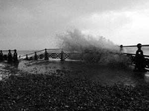 Hove seafront storm 21060208