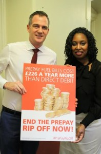 Peter Kyle with Dawn Butler MP