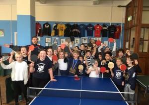 Table tennis - primary school championship 201602