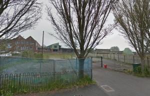 The empty Wellsbourne site in Whitehawk Road