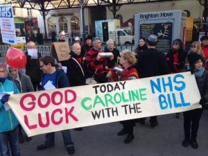 Caroline Lucas NHS Bill send-off 20160311-3