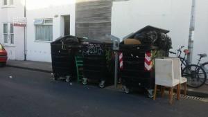 Communal bins