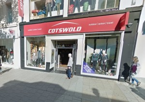 Cotswold Store in Western Road, Brighton