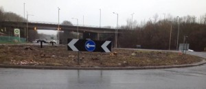Mill House Roundabout, Patcham