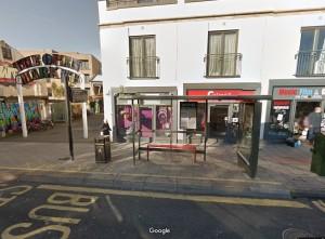 Open Market bus stop