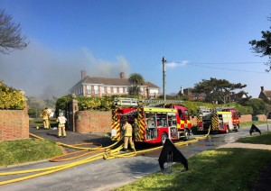 Roedean Crescent fire by Abe Garman