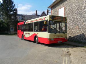 The 78 bus in Stanmer Village by Matt Davis on Flickr