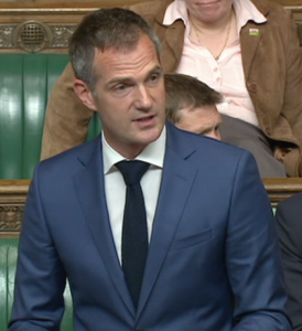 Peter Kyle making his maiden speech