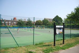 Tennis courts, St Anne's Well Gardens. Image from www.geograph.org.uk